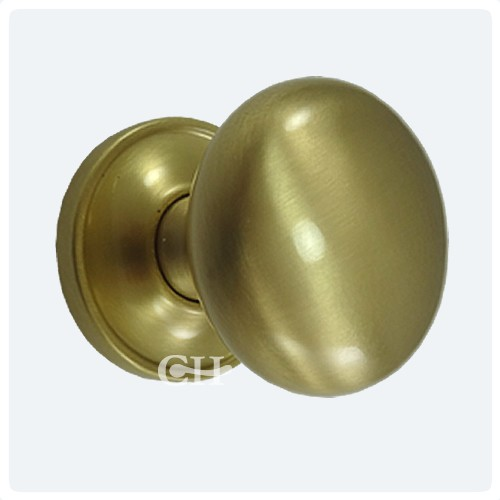 satin brass door knobs photo - 20