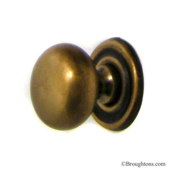 satin brass door knobs photo - 6