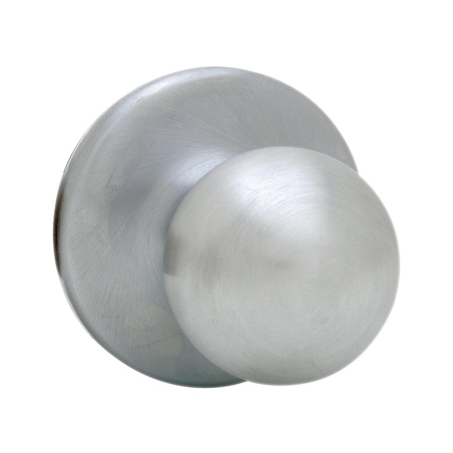 satin chrome door knob photo - 16