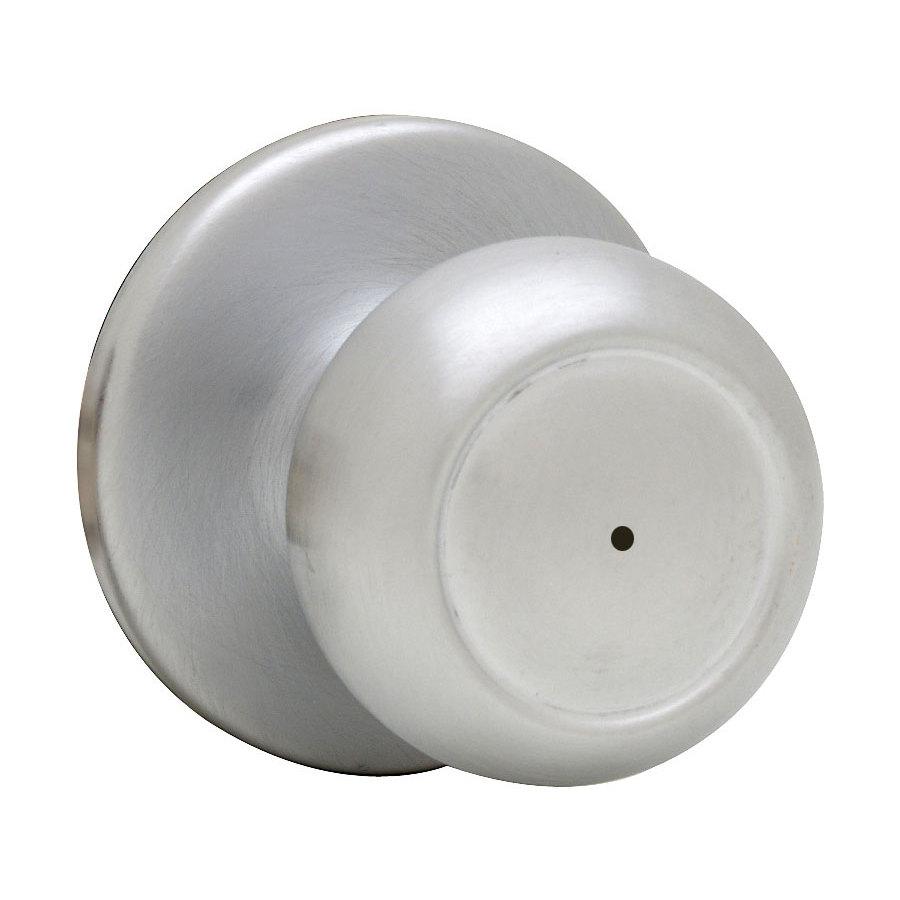 satin chrome door knob photo - 19