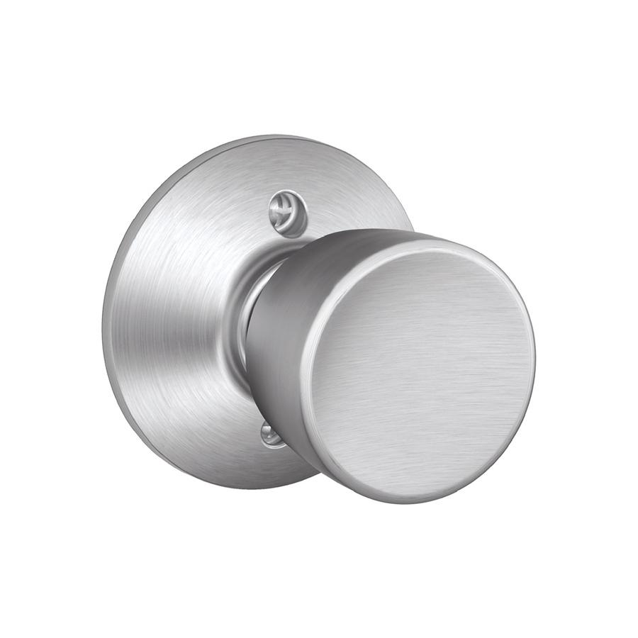 satin chrome door knob photo - 5