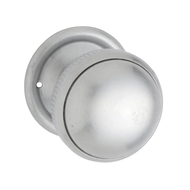 satin chrome door knobs photo - 14