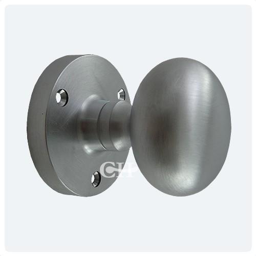 satin chrome door knobs photo - 16