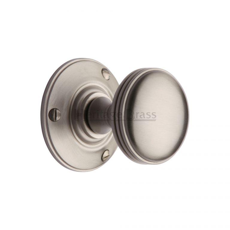 satin nickel door knobs photo - 6