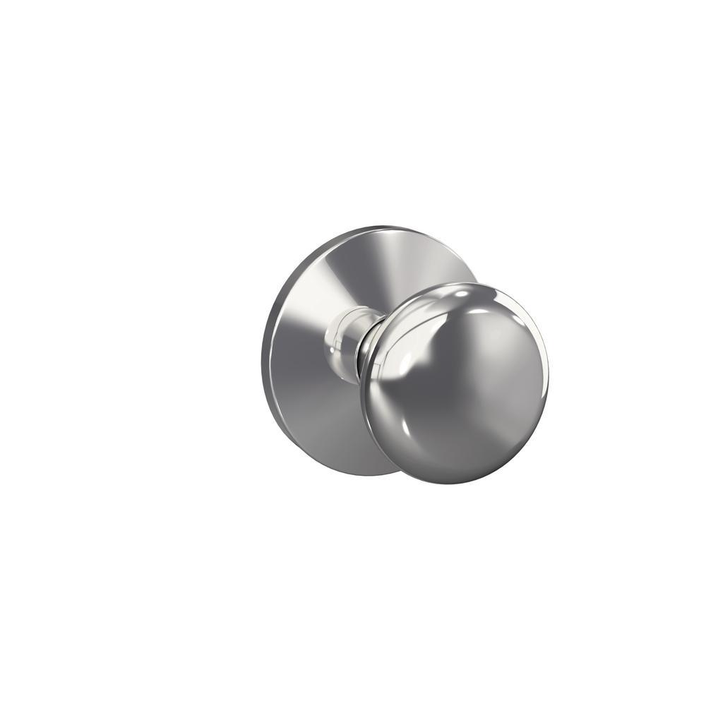 schlage chrome door knobs photo - 15