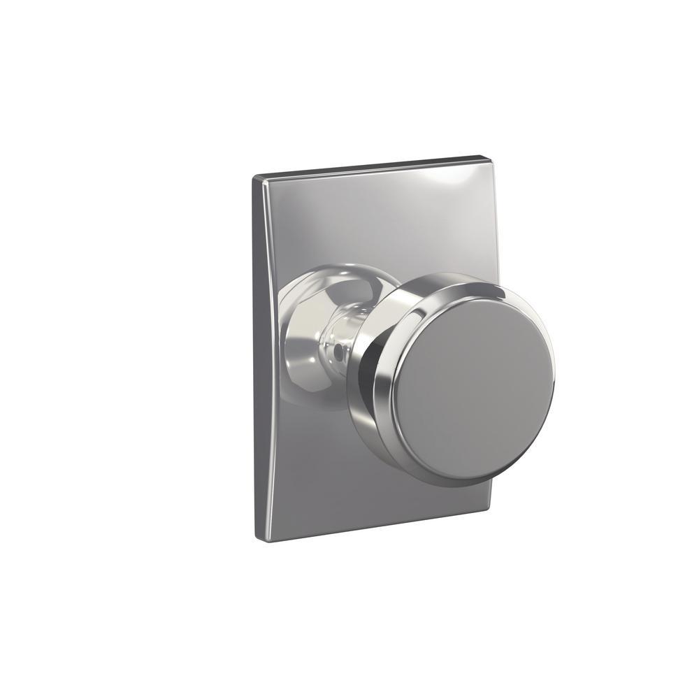 schlage chrome door knobs photo - 20