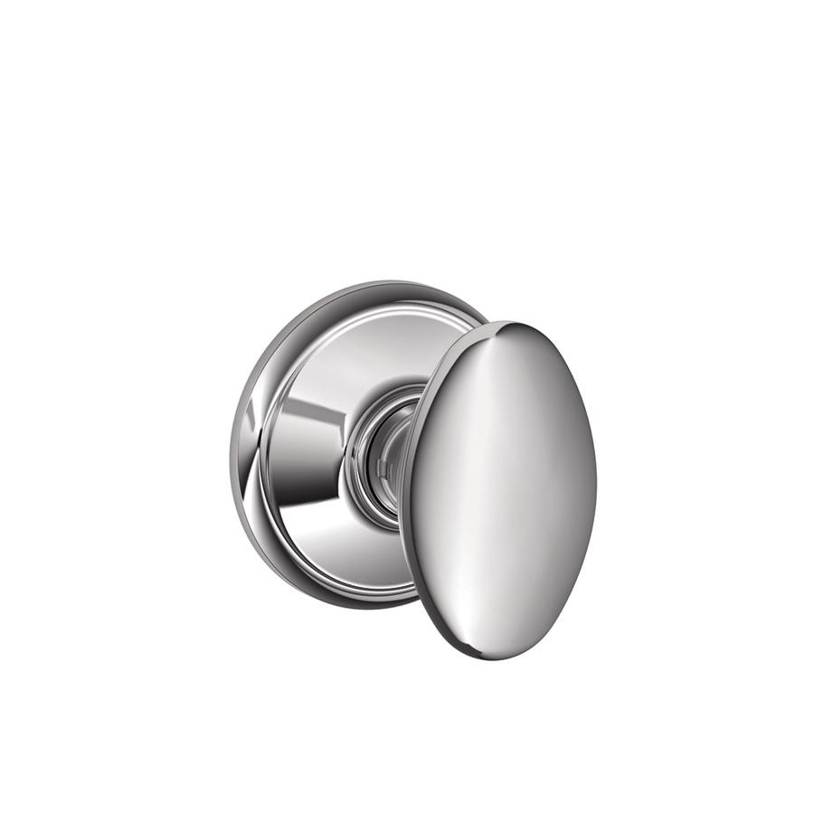 schlage chrome door knobs photo - 3