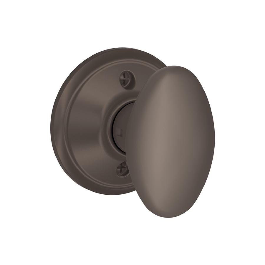 schlage oil rubbed bronze door knobs photo - 1