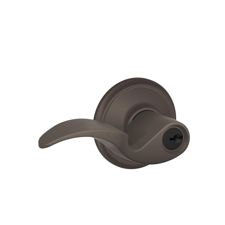schlage oil rubbed bronze door knobs photo - 15