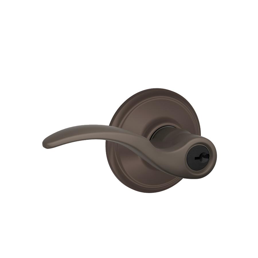 schlage oil rubbed bronze door knobs photo - 17