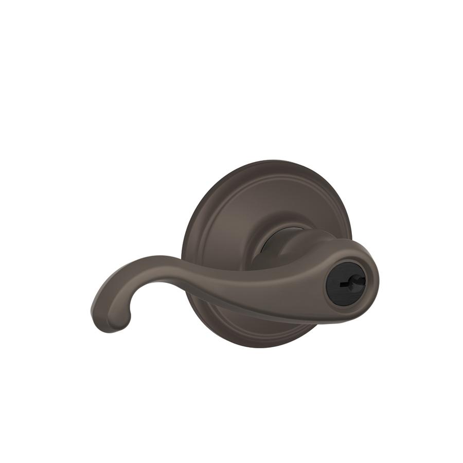 schlage oil rubbed bronze door knobs photo - 18