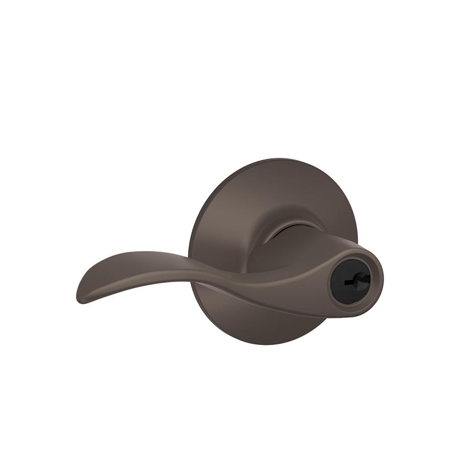schlage oil rubbed bronze door knobs photo - 3