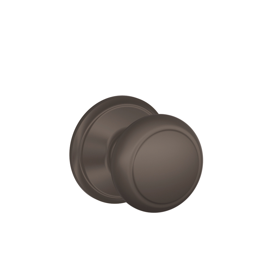 schlage oil rubbed bronze door knobs photo - 4