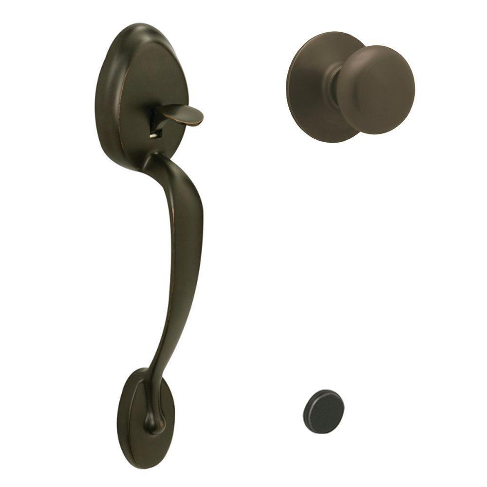 schlage oil rubbed bronze door knobs photo - 6