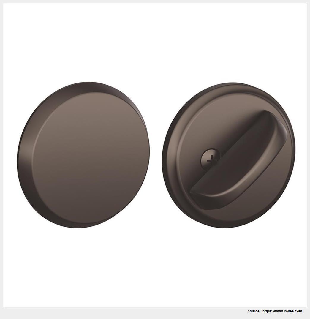 schlage oil rubbed bronze door knobs photo - 7