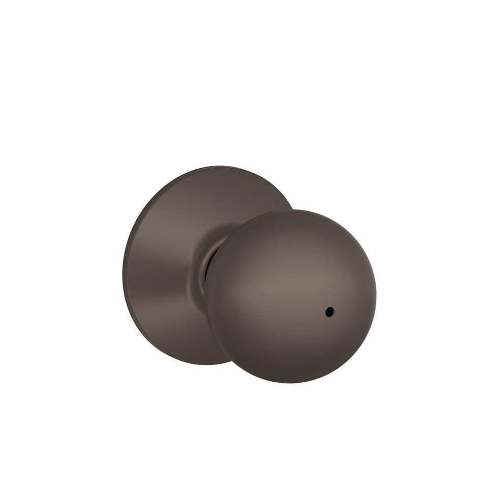 schlage oil rubbed bronze door knobs photo - 9