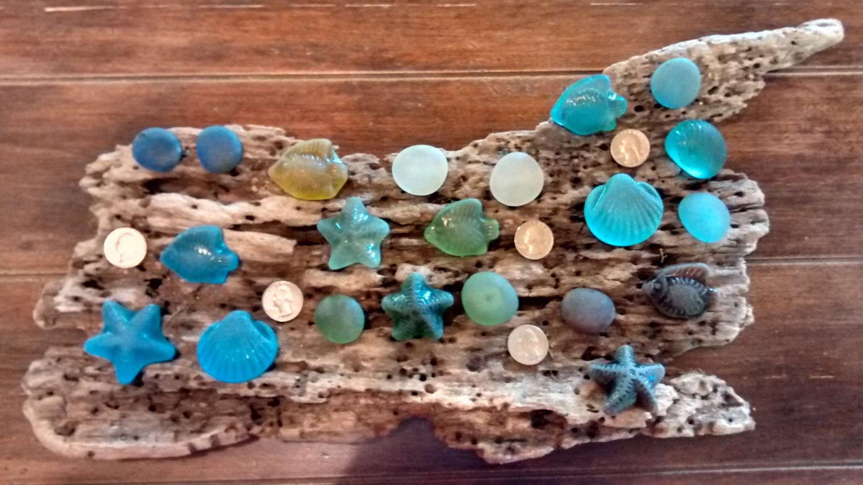 sea glass door knobs photo - 15