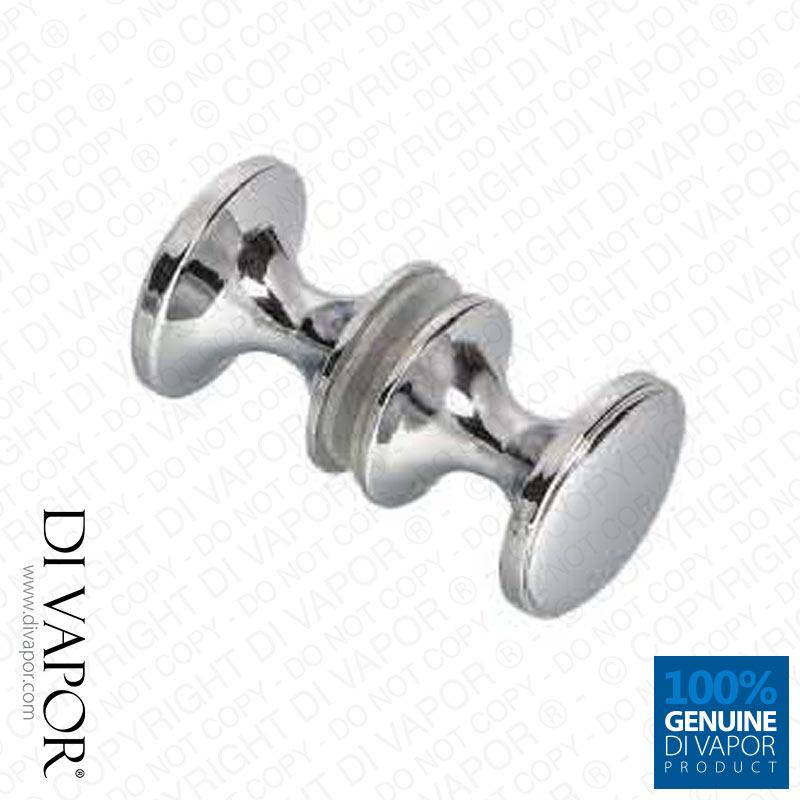 shower door knob replacement photo - 4