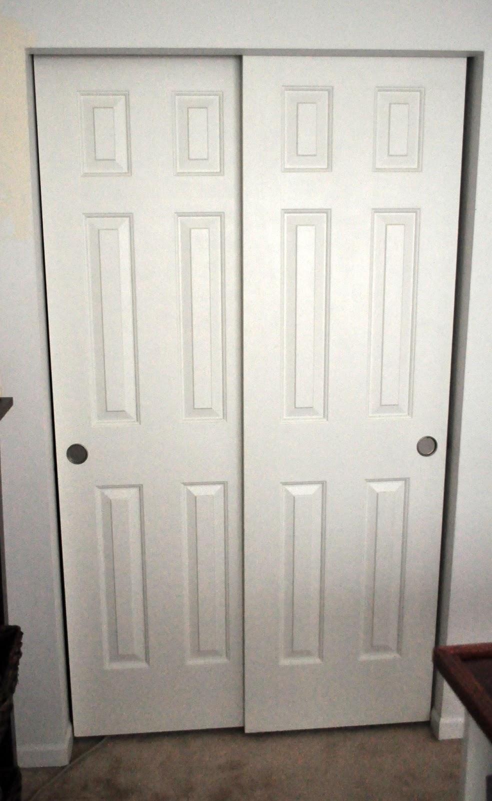 sliding closet door knobs photo - 1
