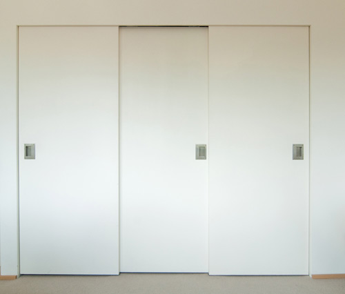 sliding closet door knobs photo - 12