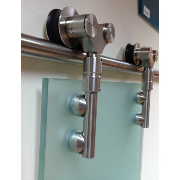 sliding closet door knobs photo - 5