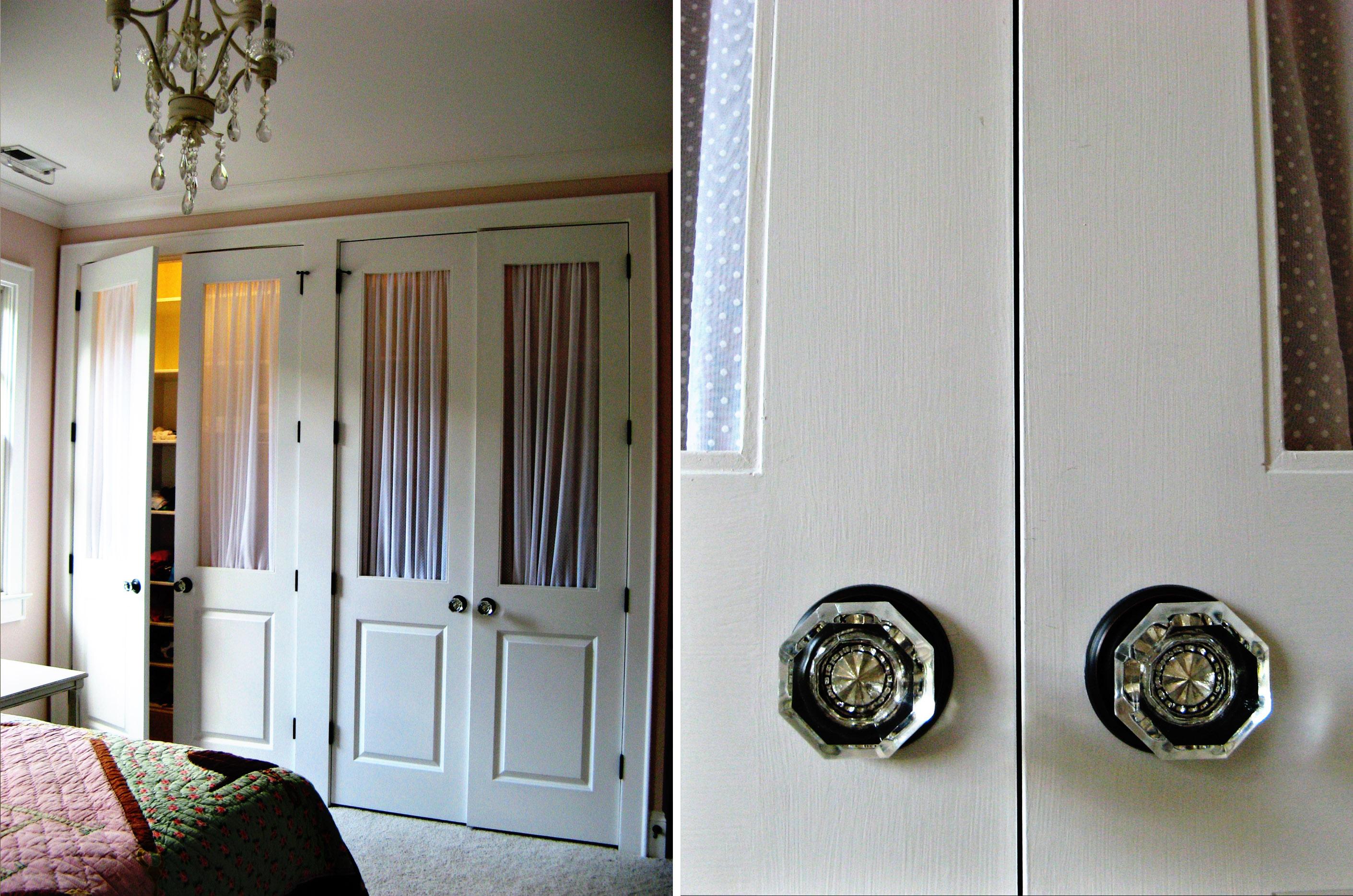 sliding closet door knobs photo - 7