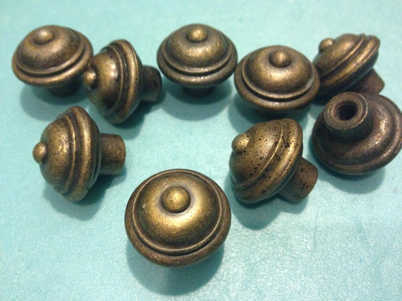 small brass door knobs photo - 19