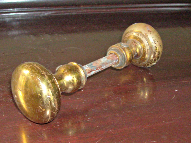 small brass door knobs photo - 4