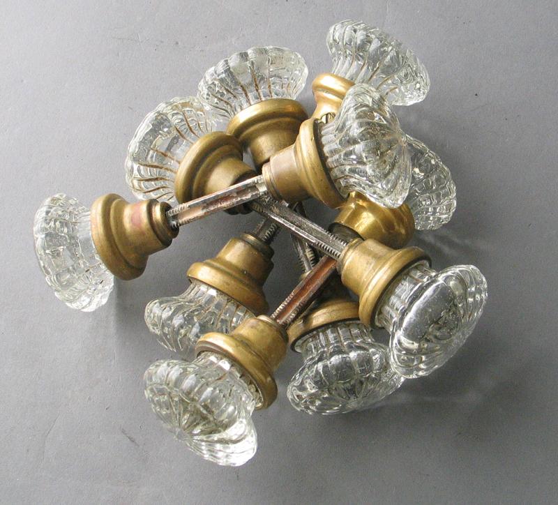 small glass door knobs photo - 15