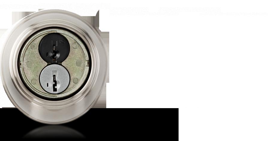 smart key door knob photo - 3