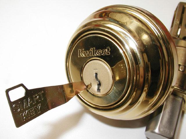 smart key door knob photo - 6