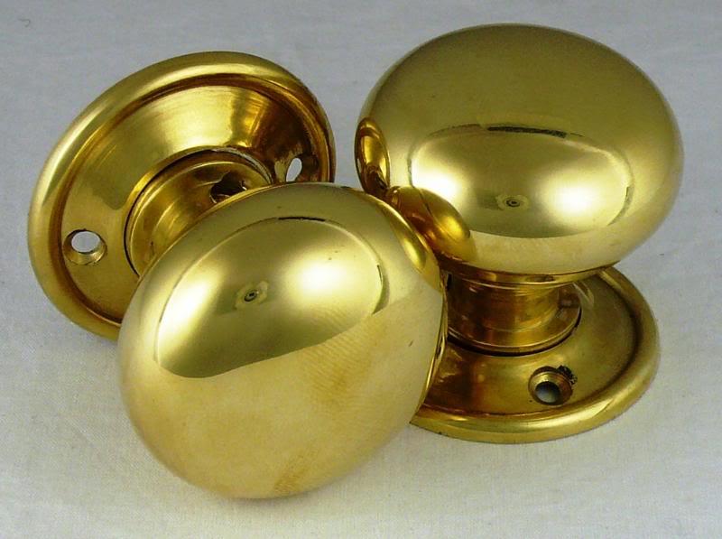 solid brass door knobs photo - 14