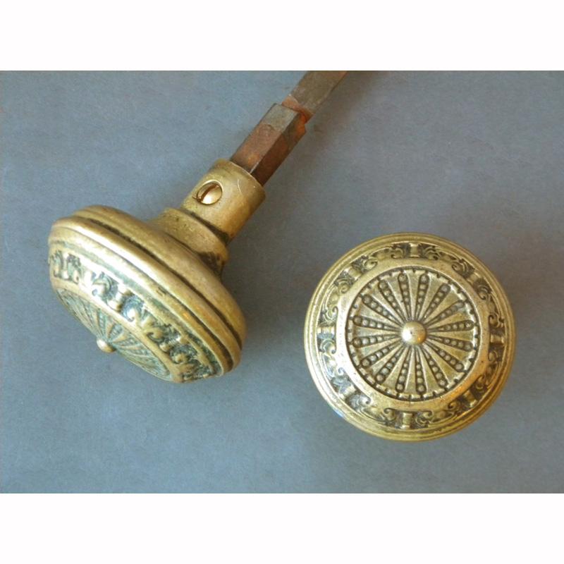 solid brass door knobs photo - 8