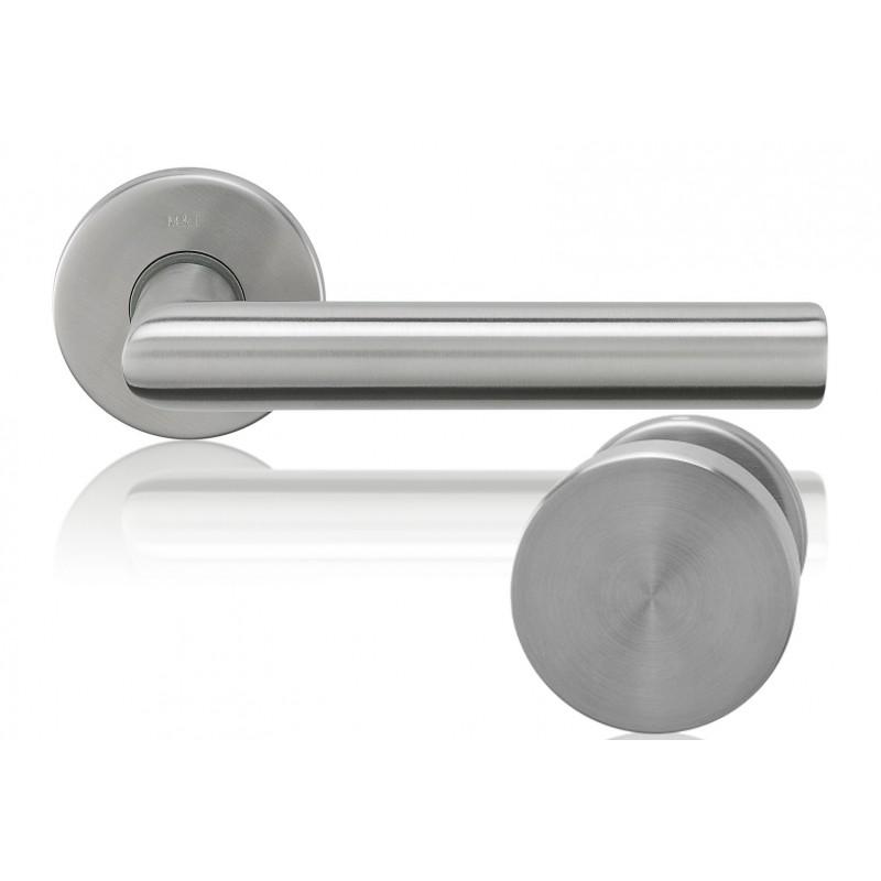 stainless steel door knob photo - 1