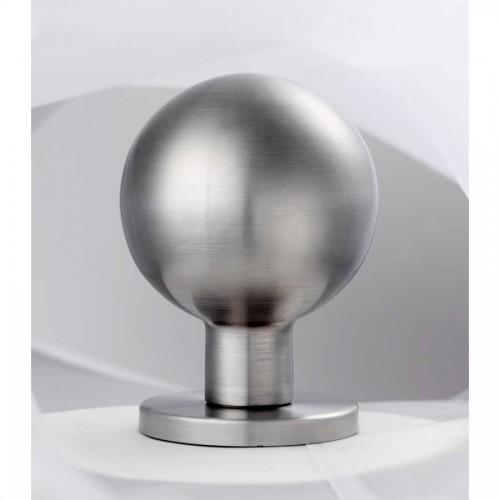 stainless steel door knob photo - 4