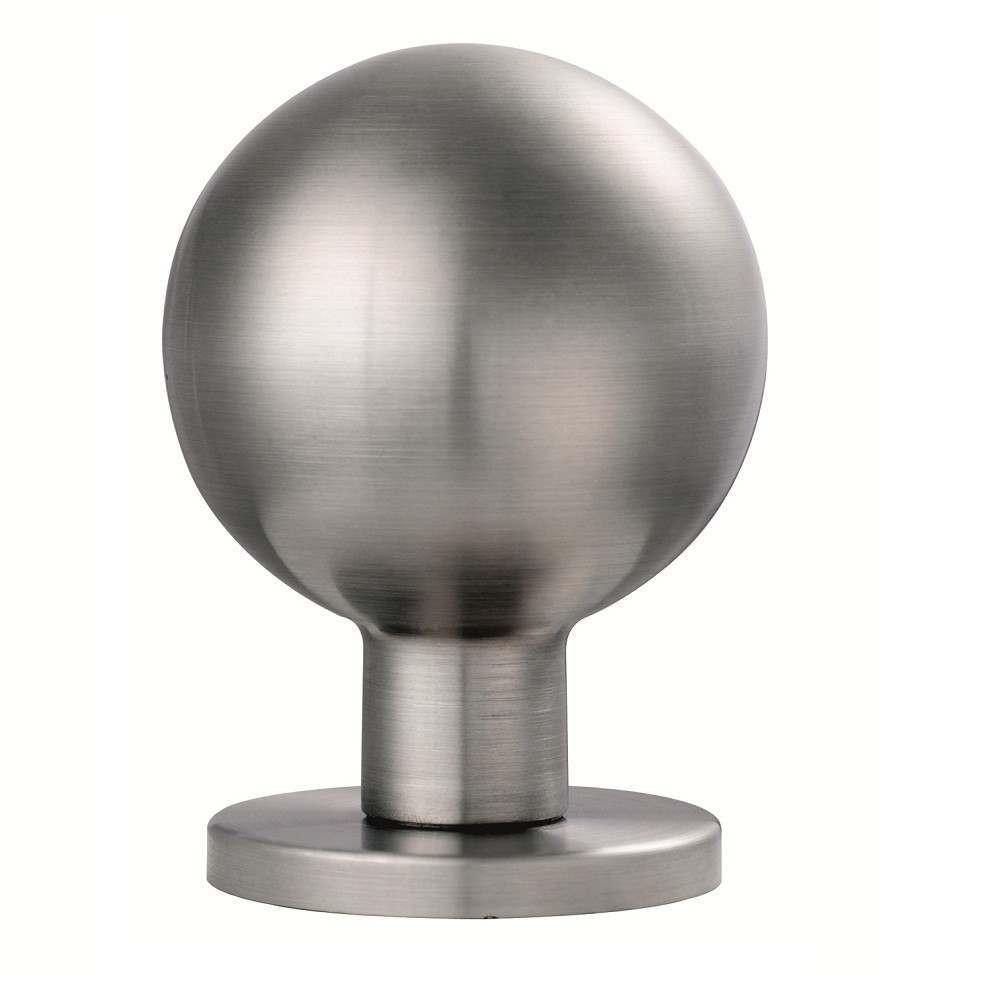 stainless steel door knob photo - 5