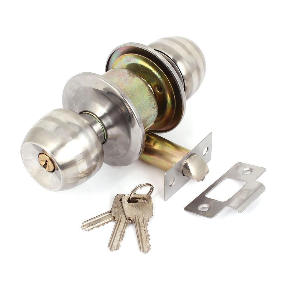 stainless steel door knob photo - 6