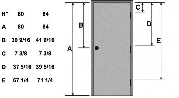 standard door knob height photo - 11