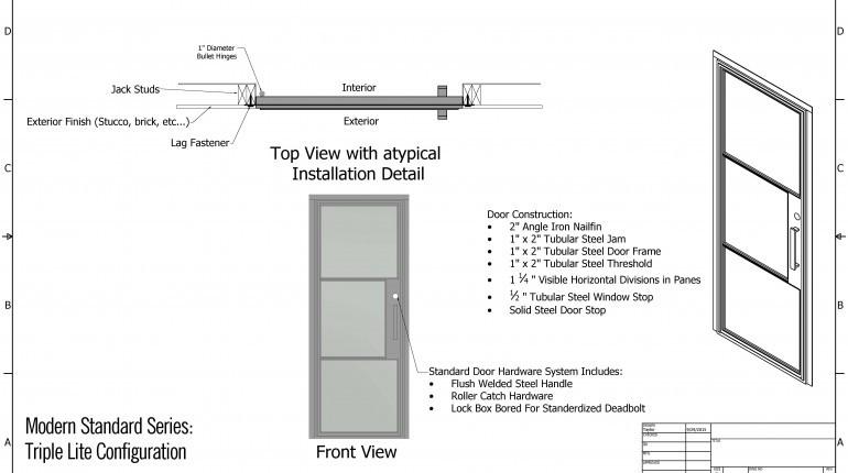 standard door knob height photo - 12