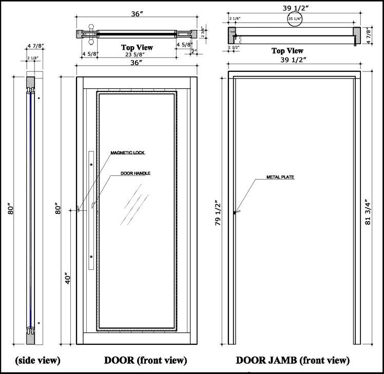 standard door knob height photo - 15