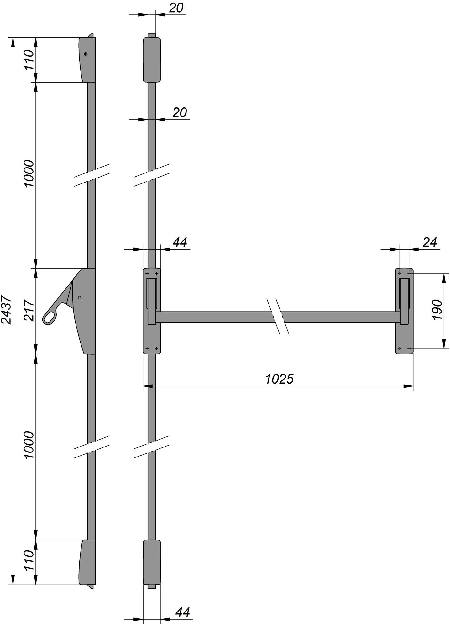 standard door knob height photo - 19