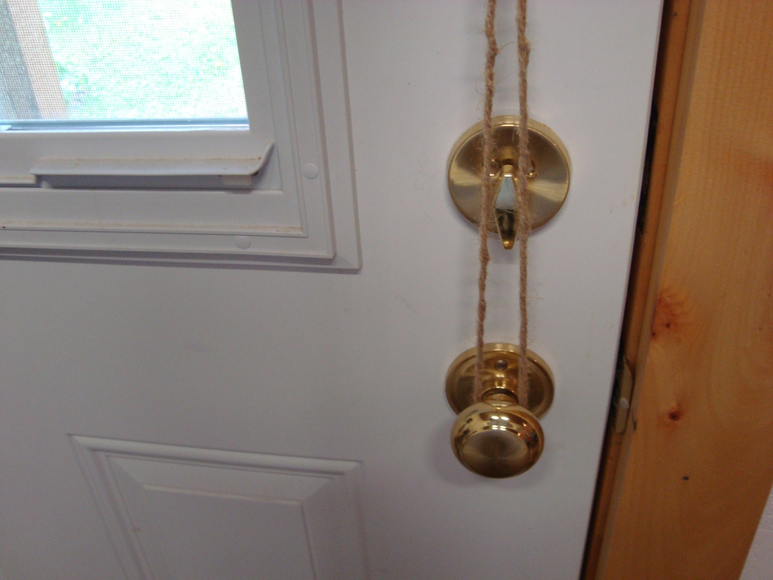 take off door knob photo - 9