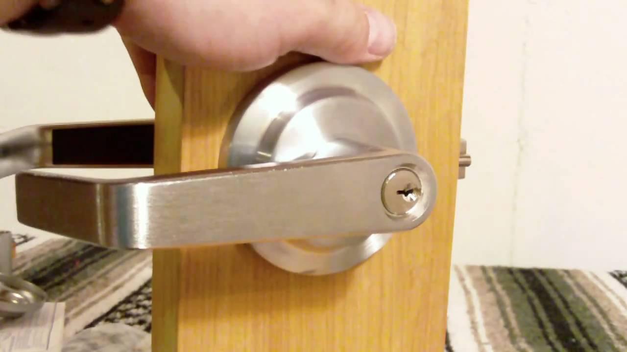 taking off a door knob photo - 4