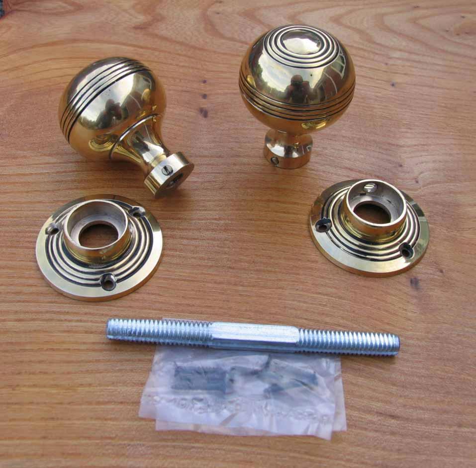 threaded door knob spindle photo - 12