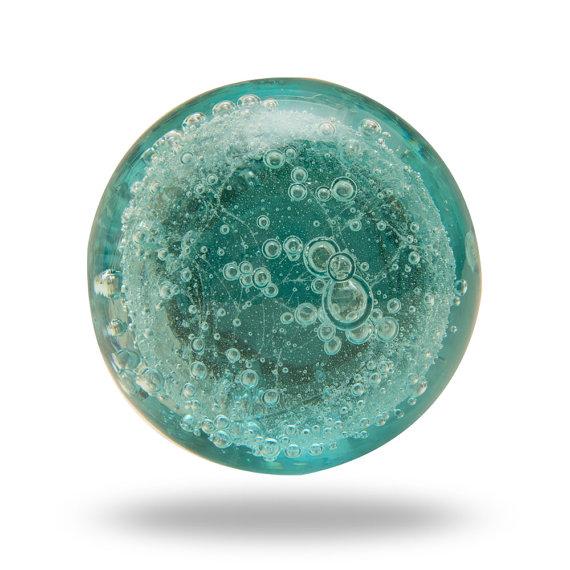 turquoise door knobs photo - 10