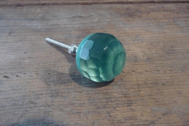 turquoise door knobs photo - 12