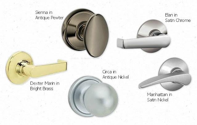 types of door knob photo - 2
