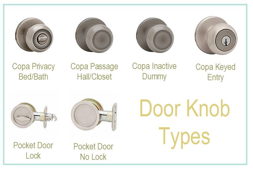 types of door knobs photo - 1
