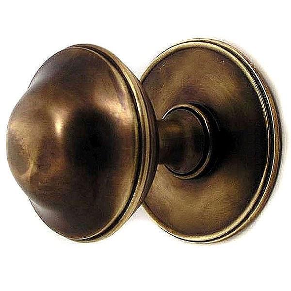 unlacquered brass door knobs photo - 17