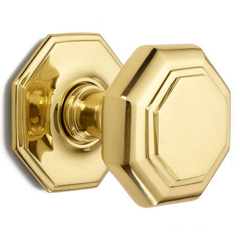 unlacquered brass door knobs photo - 9
